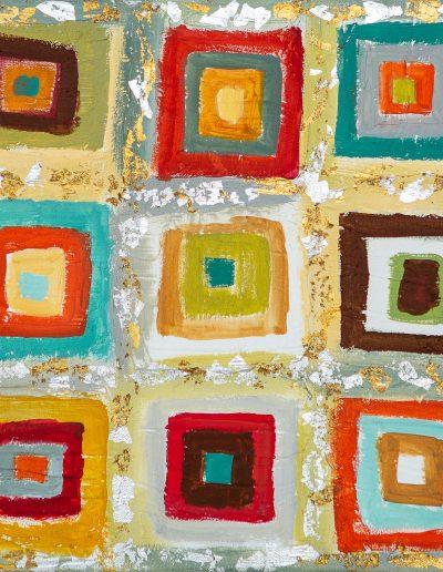 Kandinsky | 12x12 | Mixed Media